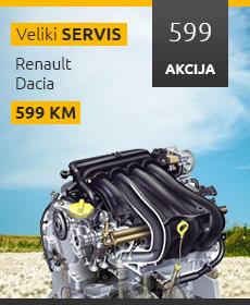 Akcijski oglas za veliki servis - 230x280