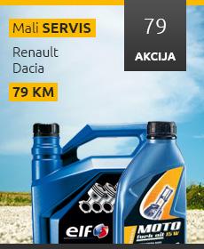 Akcijski oglas za mali servis - 230x280