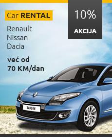 Akcijski oglas za najam vozila - 230x280