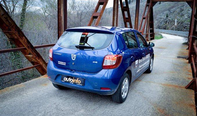 Dacia Sandero test