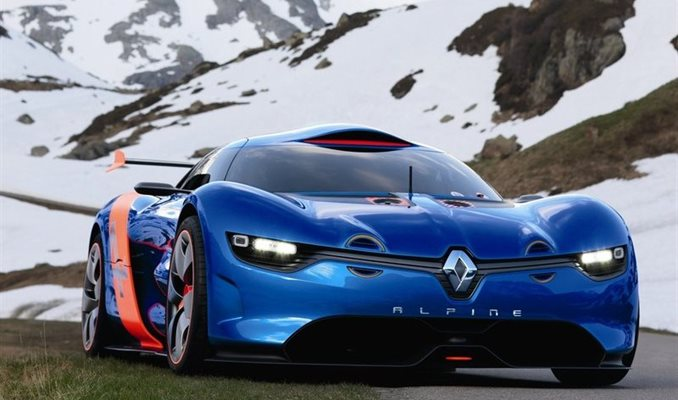 Renault Alpina A110-50 Concept