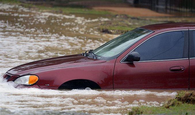 Što s poplavljenim automobilom?