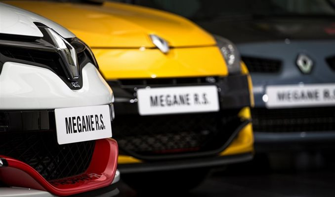 Megane RS 275 Trophy-R