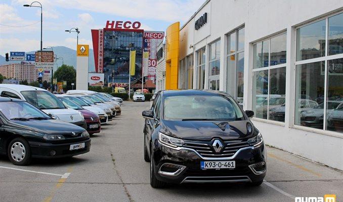 Renault Espace u GUMA M Sarajevo