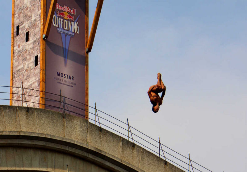 Red Bull Cliff Diving Mostar 2015