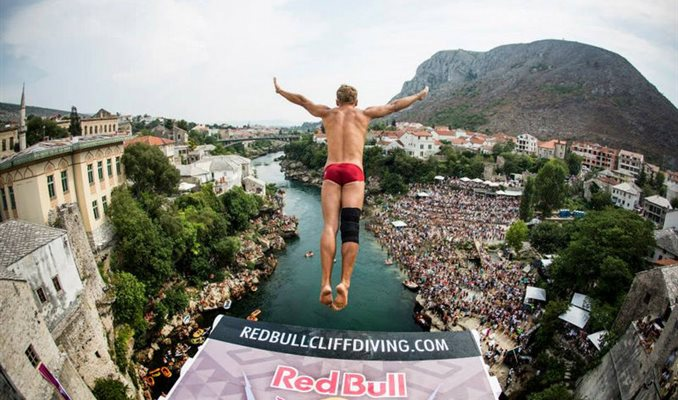 Red Bull Cliff Diving Mostar 2016.