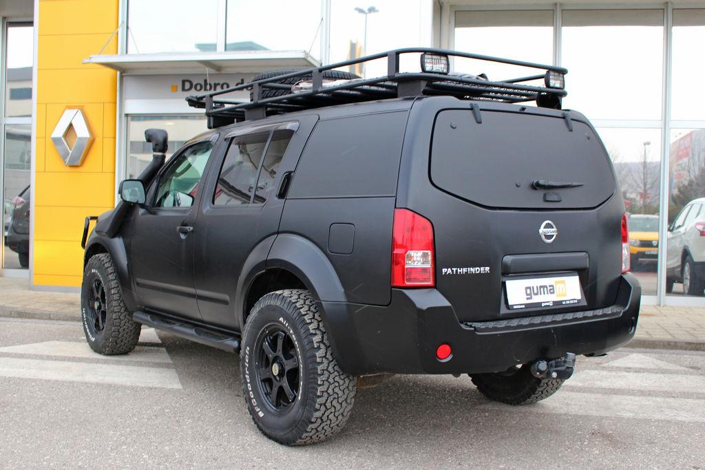 Guma M 183 Rabljeno Vozilo Nissan Pathfinder 2 5 Dci 170 Ks 4x4