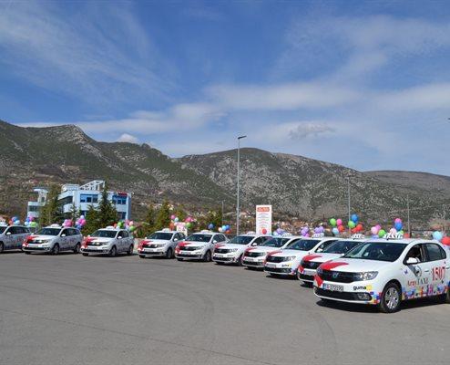 GUMA M isporučila 10 Dacia Logan Arny Taxiu
