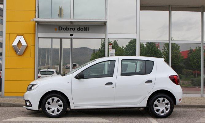 Dacia Sandero 1.2 16V 75 KS