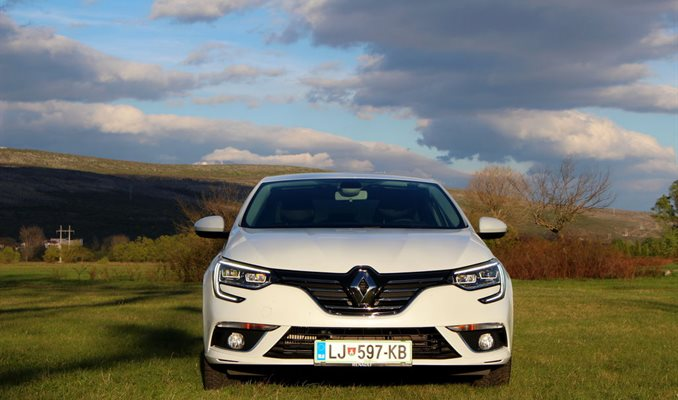 Test Renault Megane GrandCoupe