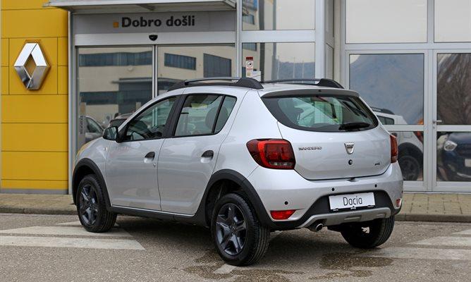 Dacia Sandero Stepway Freedom Siva