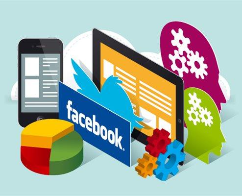 Administriranje web stranica i društvenih mreža