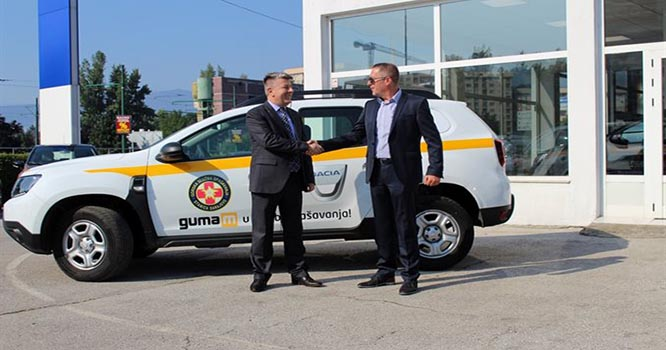 Dacia, ponosni partner vatrogasaca