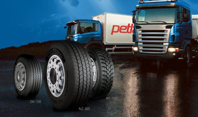 Petlas - kamionske gume