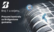 TÜV SÜD Test: Bridgestone opet među najboljima!